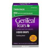 GenTeal Tears Lubricant Eye Drops Mild Twin Pack