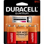 Duracell Batteries, Alkaline, 9V