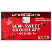 Market Pantry Semi-Sweet Chocolate, Morsels