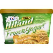 Hiland Dairy Frozen Yogurt, French Vanilla
