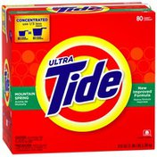 Tide Ultra Powder Mountain Spring Scent Laundry Detergent