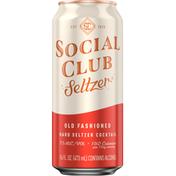 Social Club Setlzer, Old Fashioned