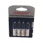 Schnucks Double A Super Heavy Duty Battery