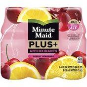 Minute Maid Plus Antioxidants Cherry Lemonade Juice Drink