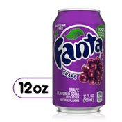 Fanta Grape Fruit Soda Soda Soft Drink