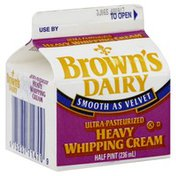Browns Dairy Heavy Whipping Cream