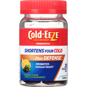 Cold-Eeze Cold Remedy, Chewable Gels, Citrus with Elderberry