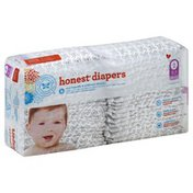 The Honest Company Diapers, Size 2 (12-18 Pounds), Skulls