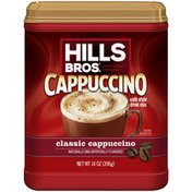 Hills Bros. Classic Cappuccino Café Style Drink Mix