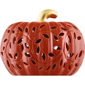 Creative Design Decor, Ceramic Pumpkin, Lighted