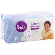 Basics For Kids Nighttime Underwear, L/XL (60-125 lb), Unisex