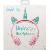 Gabba goods Headphones, Unicorn, Light Up
