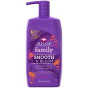 Aussie Smooth Aussie Smooth 'N Bloom Smoothing Shampoo 29.2 Fl Oz Female Hair Care