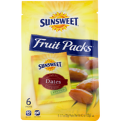 Sunsweet Fruit Packs Dates Pitted