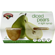 Hannaford Diced Pears In Light Syrup