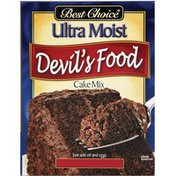 Best Choice Ultra Moist Devil's Food Cake Mix
