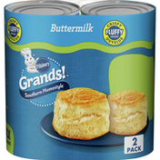 Pillsbury Grands! Southern Homestyle, Original Biscuits, Twin Pack, 16 Count