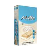 NuGo Original Vanilla Yogurt, Gluten Free, Protein Bar