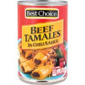 Best Choice Beef Tamales In Chili Sauce