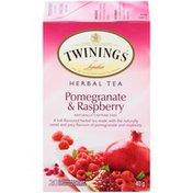 Twinings Pomegranate & Raspberry Herbal Tea Bags