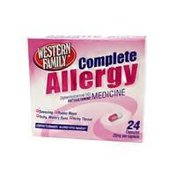 Western Family Complete Allergy Capsules