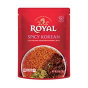 Royal Ready to Eat Microwave Spicy Korean Seasoned Basmati Rice