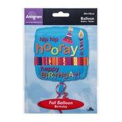 "Anagram Foil Balloon 18""Hip Hip Hooray Happy Birthday"