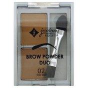 Jordana Brow Powder Duo, 02 Medium