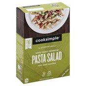 Cooksimple Pasta Salad, with Lentil Noodles, Zesty Ranch Dressing