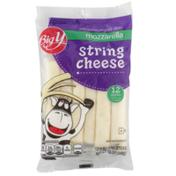 Big Y Low-Moisture Part-Skim Mozzarella String Cheese