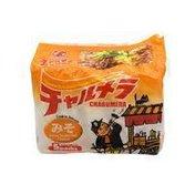 Myojo Charumera Miso Flavor Ramen Noodles With Soup Base