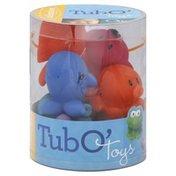Infantino Tub O' Toys, Squirting Animals, 0m+