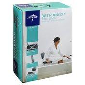 Medline Bath Bench, with Back