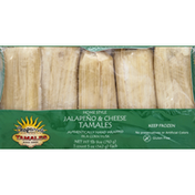 Chaparros Tamales Tamales, Jalapeno & Cheese, Home Style