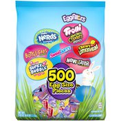 Brach's Nerds Trolli Bottlecaps SweeTARTS Lemonhead Super Bubble & Now and Later Easter Candy Variety Pack
