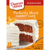 Duncan Hines Cake Mix, Carrot, Perfectly Moist
