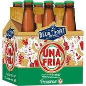 Blue Point Brewing Company Una Fria Presidente Collaboration
