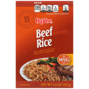 Hy-Vee Beef Flavored Rice & Vermicelli Mix With Beef Stock & Vegetables