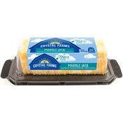 Crystal Farms Cracker Cuts Marble Jack Cheese Slices