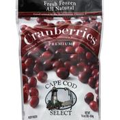 Cape Cod Select Cranberries, Premium