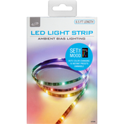 iLive Light Strip, LED, 6.5 Feet Length