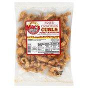 Macs Pork Cracklins, Fried Cracklin Curls, Spicy