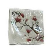 Ideal Home Range Spring Melody Design 3-Ply Cocktail Napkins