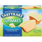 Tastykake Summer Edition Key Lime Cupkakes