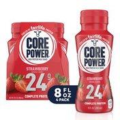 Core Power Protein Strawberry 24G Bottles