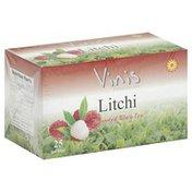 Vinis Black Tea, Litchi Flavoured, Tea Bags