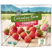 Cascadian Farm Organic Strawberries, Premium Frozen Fruit, Non-GMO