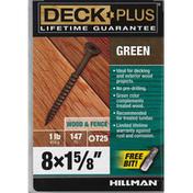 Deck Plus Screws, Green, Wood & Fence
