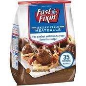 Fast Fixin Italian Style Meatballs