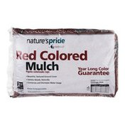 Nature's Pride Red Colored Mulch - 2 Cubic Ft
